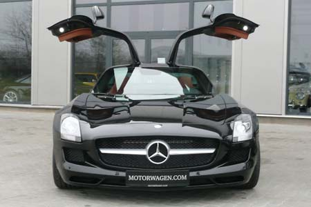 for sale sch ner mercedes benz sls amg fl gelt rer zu. Black Bedroom Furniture Sets. Home Design Ideas