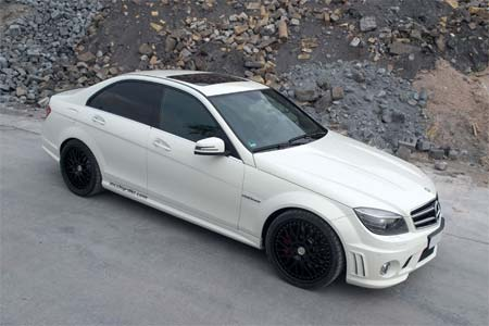 Mercedes-Benz C63 AMG by mcchip-dkr - 563 PS durch Stage 3