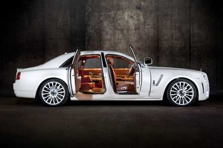 MANSORY White Ghost Limited – Rolls Royce als streng limitiertes