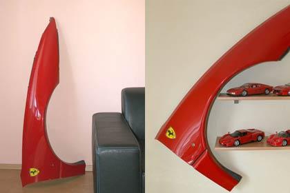 Ferrari 512 TR Kotflügel