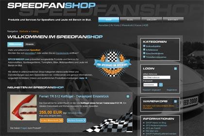 SPEEDFANSHOP ist online