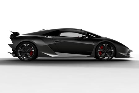Lamborghini Sesto Elemento - Kohlefaser Leichbau Supersportwagen
