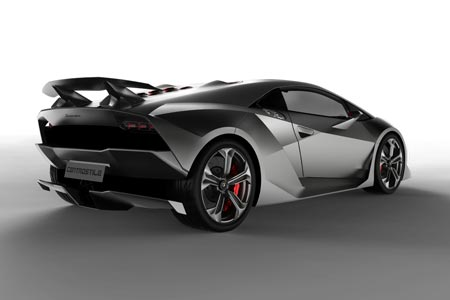 Lamborghini Sesto Elemento - Kohlefaser Leichbau Supersportwagen