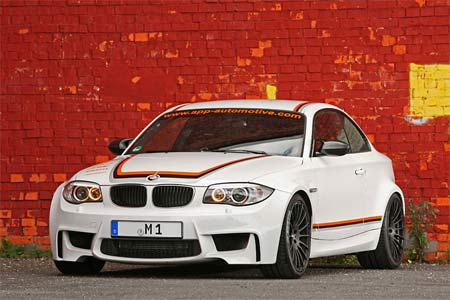 BMW 1M Advanced Performance Parts