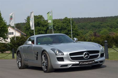 mercedes benz sls 63 amg tuning 625 ps bei 680 nm tuned by kubatech f r speedfans. Black Bedroom Furniture Sets. Home Design Ideas