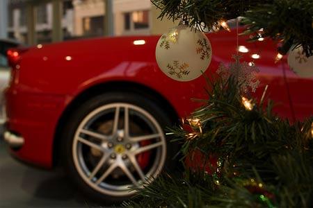Das speedfanblog team w nscht frohe weihnachten f r for Ferrari christmas
