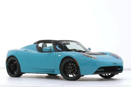 BRABUS Tesla Roadster Green Package
