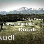Audi und Ducati feiern am Pikes Peak eine Party