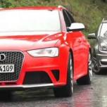 Alle Audi RS4-Modelle im Vergleich mit dem Mercedes-Benz C63 AMG