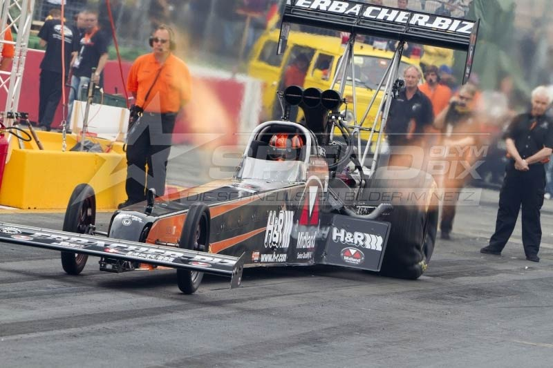 Top Fuel Dragster 360 Spin